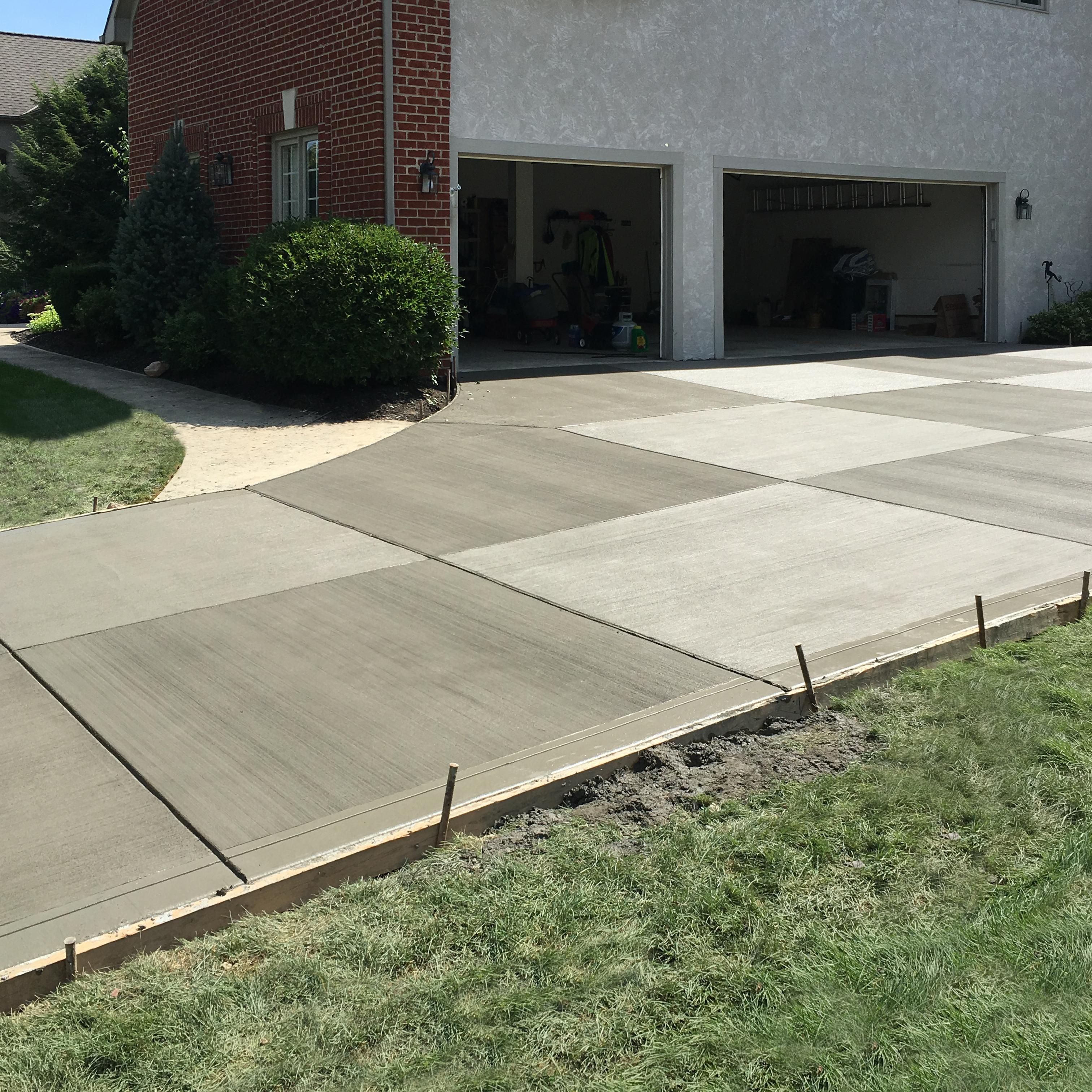 Concrete Driveway in Columbus